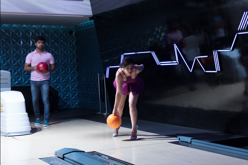2 lane bowling alley at Belvedere