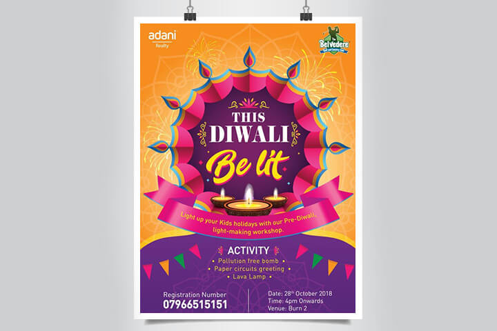Diwali event at Ahmedabad belvedere club